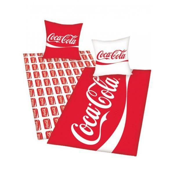 Housse de couette coca cola achat vente housse de couette cdiscount - Housse de couette coca cola ...