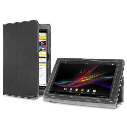 cover up etui housse pour sony xperia tablet z 10 1 quot support plate forme noir prix