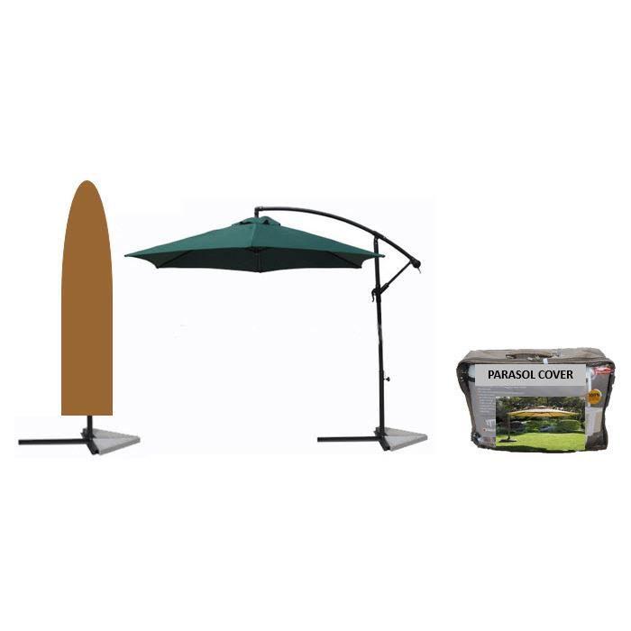 Dimensions voir sch ma ci dessus gamme confort en - Housse pour parasol deporte ...