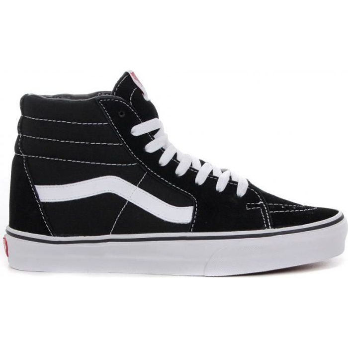 Chaussure montante vans sk8 hi noir achat vente basket for Garage du midi les vans