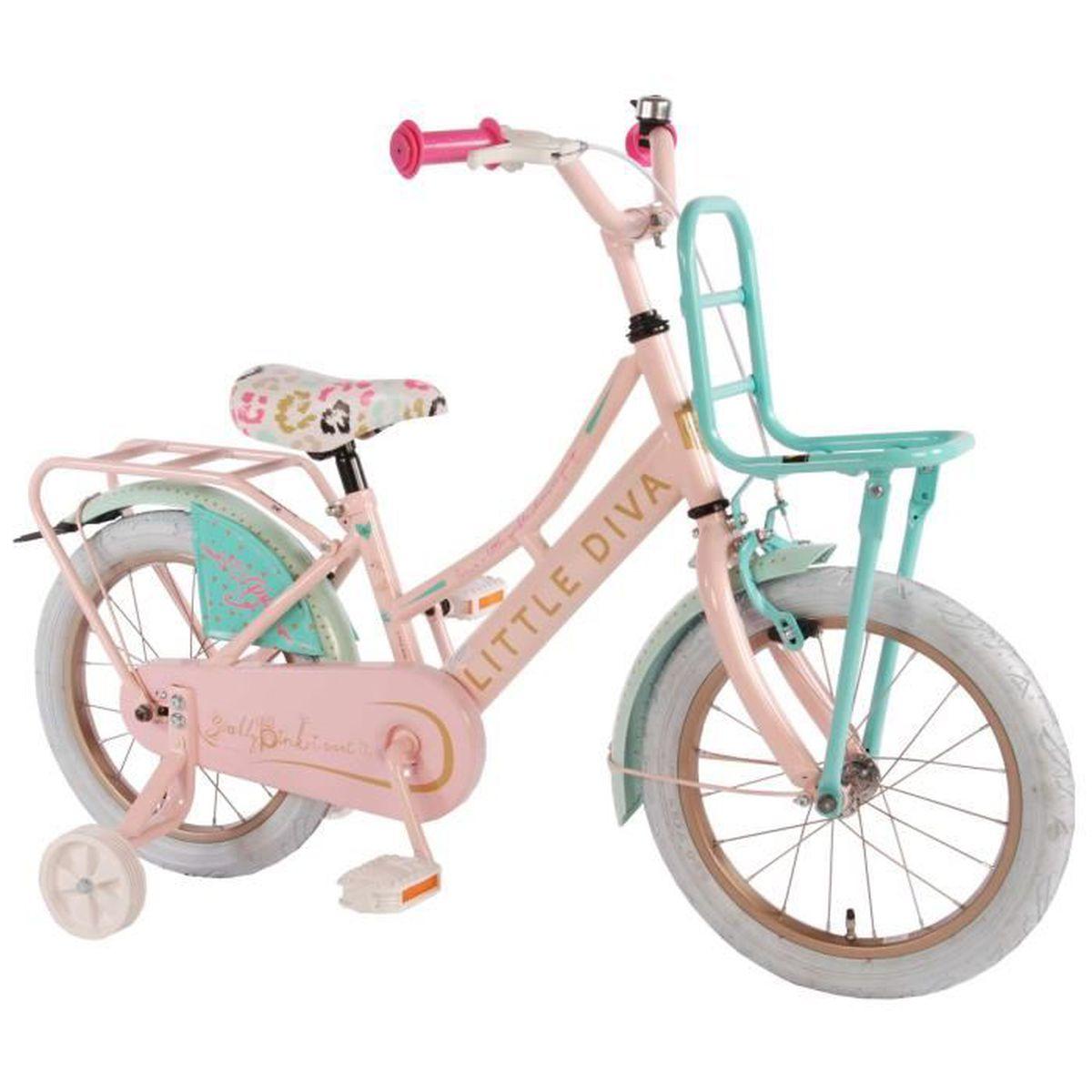 v lo enfant fille little diva 16 pouce avec roues de. Black Bedroom Furniture Sets. Home Design Ideas