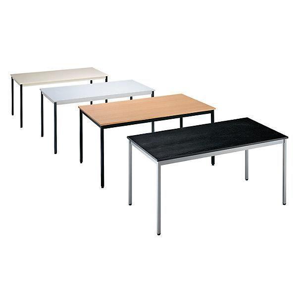 Table polyvalente rectangulaire hauteur 740 mm l x l for Hauteur table a manger standard