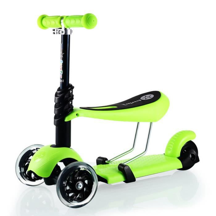 vert p dale flash triad scooter enfants multi fonction walkers scooter triade achat vente. Black Bedroom Furniture Sets. Home Design Ideas