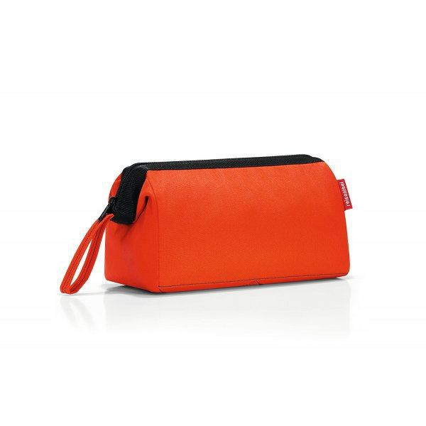 trousse toilette voyage orange orange rouge achat vente trousse de toilette vanity. Black Bedroom Furniture Sets. Home Design Ideas