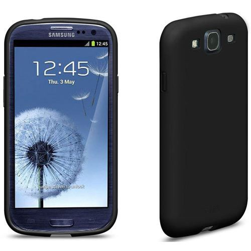 Coque galaxy s3 i9300 iplate glossy noir samsung achat for Housse samsung galaxy s3