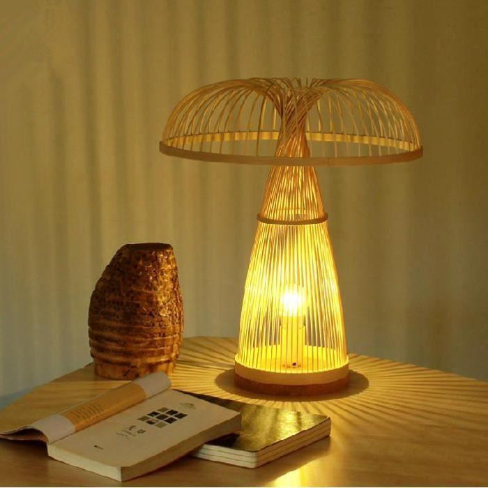 Lampe de chevet s habiller pastoral son bien tre dengshi for Lampe de chevet nature