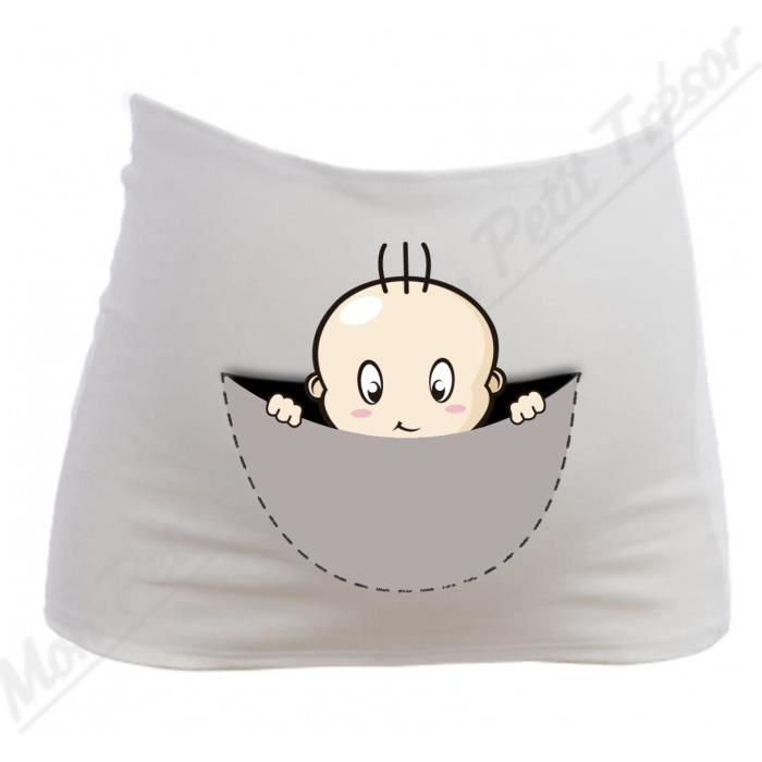 bandeau grossesse maternit coucou b b cach achat vente ceinture ventre 2009939815714. Black Bedroom Furniture Sets. Home Design Ideas