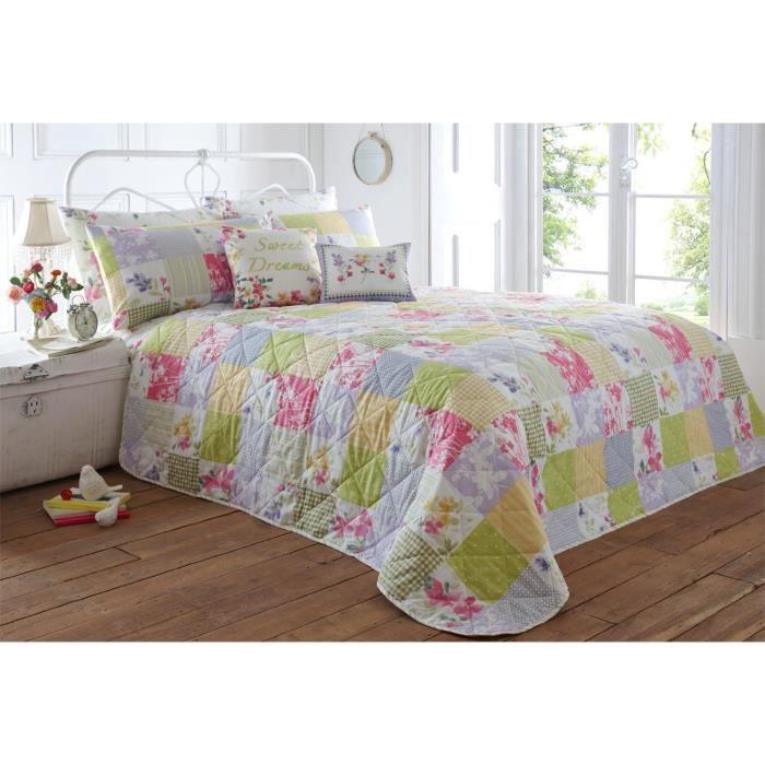 linge de lit parure de drap just contempo spring b achat vente parure de drap cdiscount. Black Bedroom Furniture Sets. Home Design Ideas