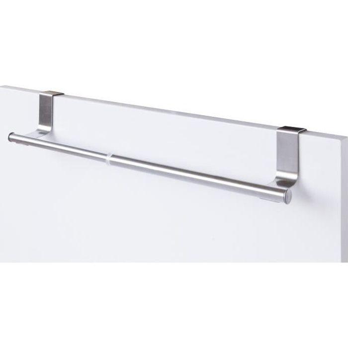Porte serviette extensible de type chrome achat vente for Porte extensible