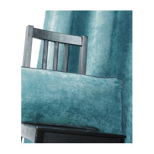 coussin en velours uni rectangle bleu p trole 3 achat vente coussin cdiscount. Black Bedroom Furniture Sets. Home Design Ideas