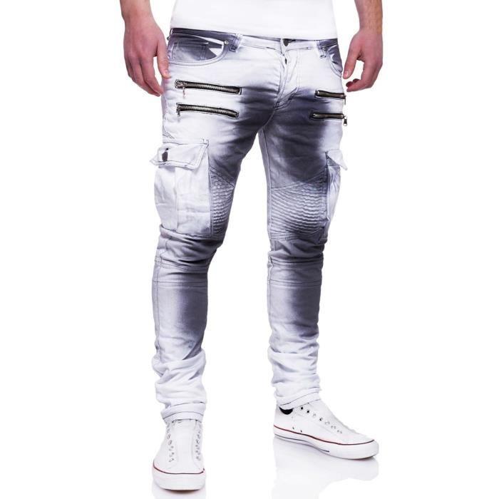 jeans blanc homme pas cher. Black Bedroom Furniture Sets. Home Design Ideas