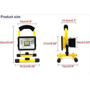 projecteur led rechargeable 30w achat vente projecteur led rechargeable 30w pas cher cdiscount. Black Bedroom Furniture Sets. Home Design Ideas