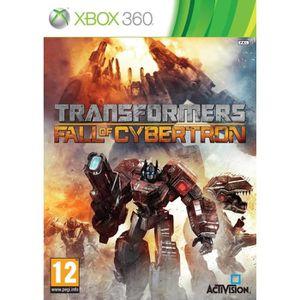 JEUX XBOX 360 Transformers La Chute de Cybertron Jeu XBOX 360