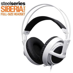 CASQUE  - MICROPHONE Steelseries Siberia V2 White Jeu PC