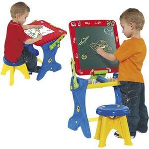 bureau tableau enfant 2 en 1 achat vente jeux et jouets pas chers. Black Bedroom Furniture Sets. Home Design Ideas