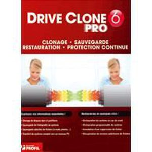 LOGICIEL À TÉLÉCHARGER DriveClone 6 Pro