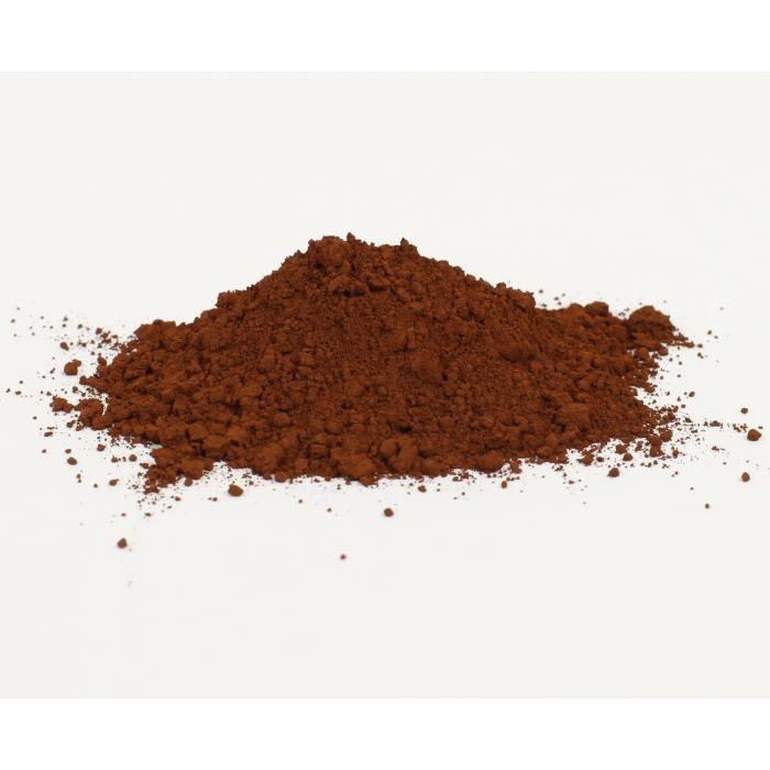 pigment naturel pour peinture oxyde de fer brun achat vente peinture vernis cdiscount. Black Bedroom Furniture Sets. Home Design Ideas