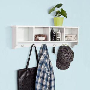 porte manteau mural avec rangement achat vente porte manteau mural avec rangement pas cher. Black Bedroom Furniture Sets. Home Design Ideas