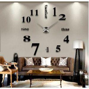 Horloge murale de salon achat vente horloge murale de - Horloge numerique murale a pile ...