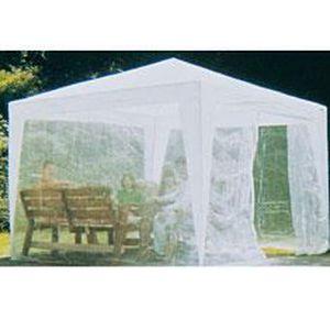 Rideaux moustiquaire pour tonnelle 3x4 - Tonnelle avec moustiquaire ...