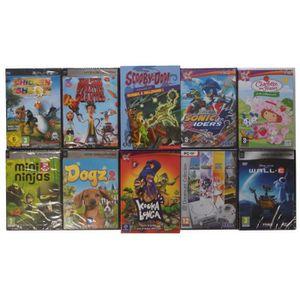 JEU PC Pack de 10 jeux juniors - Volume 1