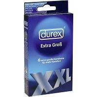 PRÉSERVATIF  Préservatifs Durex XXL x6