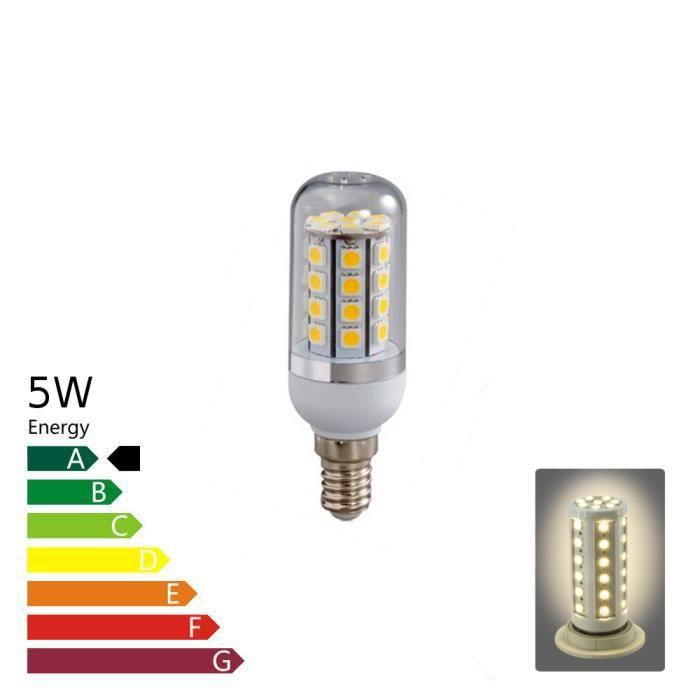 ampoule led e14 corn 5 watt blanc chaud achat vente ampoule led cdiscount. Black Bedroom Furniture Sets. Home Design Ideas
