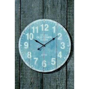 grande pendule murale old town achat vente horloge m tal verre cdiscount. Black Bedroom Furniture Sets. Home Design Ideas