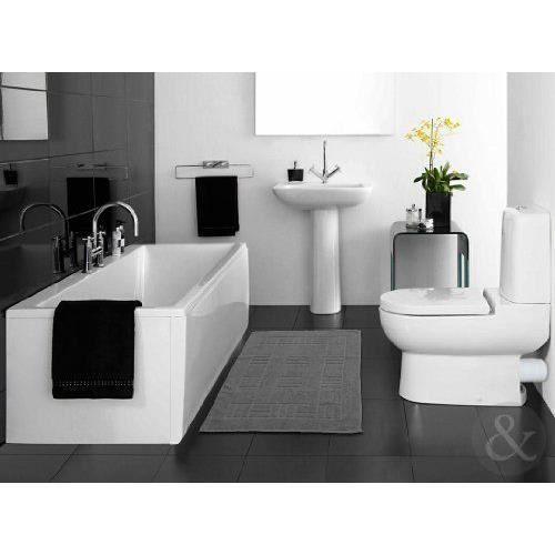 Just contempo tapis de salle de bains en coton gyptien for Tapis de cuisine lavable en machine