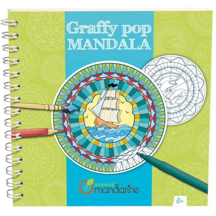 Graffy pop mandala gar ons achat vente carnet de croquis graffy pop mandala gar ons cdiscount - Mandala garcon ...