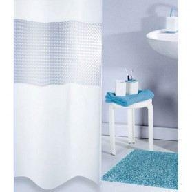 Rideau de douche pvc 3d blanc 180x180 cm achat vente rideau de douche pvc plastique - Rideau de douche 180x180 ...
