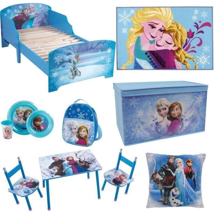 la reine des neiges pack chambre compl te enfant achat vente chambre compl te cdiscount. Black Bedroom Furniture Sets. Home Design Ideas