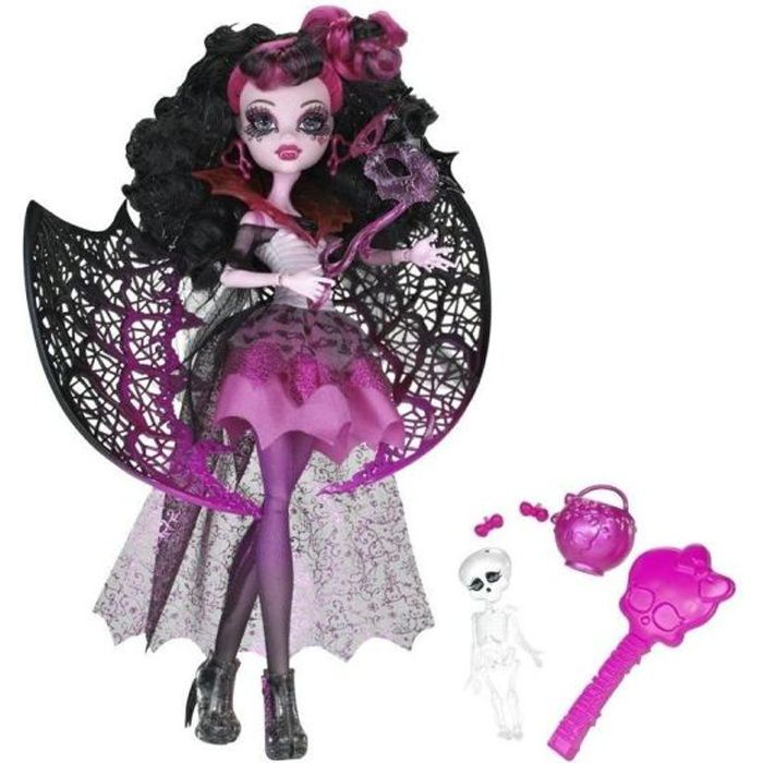 monster high halloween draculaura achat vente poup e cdiscount. Black Bedroom Furniture Sets. Home Design Ideas