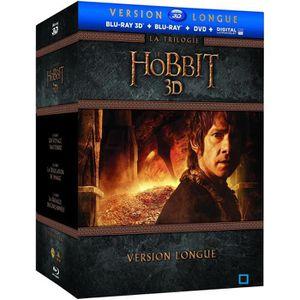 BLU-RAY FILM Blu-ray 3D Le Hobbit 3D : La Trilogie (Version lon