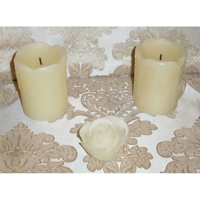 elambia bougies sans flamme 3 pi ce dans la nature achat. Black Bedroom Furniture Sets. Home Design Ideas