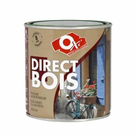 Direct sur bois 2 litres bleu breton achat vente peinture vernis cdiscount for Peinture sur vernis bois