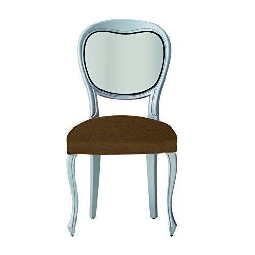 Eysa s62271 angelo 6 housses de chaise polyester acrylique for Housse de chaise beige