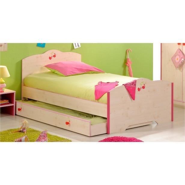 Tiroir lit cerise achat vente tiroir de lit tiroir lit for Achat de lit