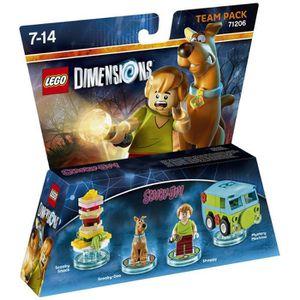 FIGURINE DE JEU Figurines LEGO Dimensions - Scooby & Shaggy - Scoo