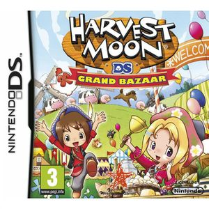 HARVEST MOON GRAND BAZAAR / Jeu console DS