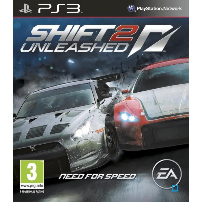 Electronic Arts NEED FOR SPEED SHIFT 2 UNLEASHED PS3