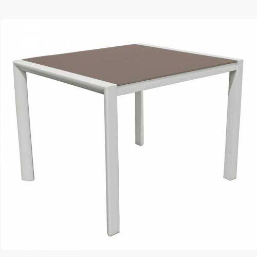 Table carr e nano 100 100 medicis achat vente table de jardin table carr e nano 100 100 m - Table jardin carree calais ...