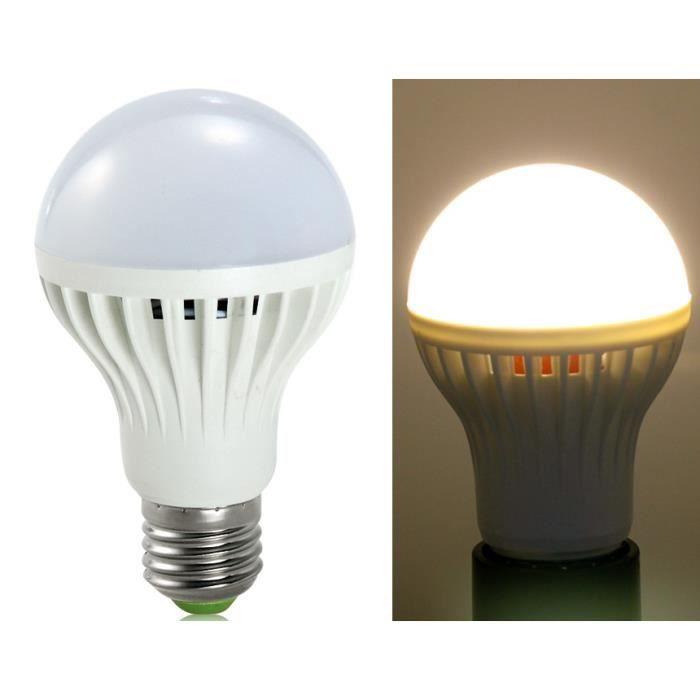 e27 7w 220v 3000k blanc chaud ampoule led blanc achat vente ampoule led cdiscount. Black Bedroom Furniture Sets. Home Design Ideas
