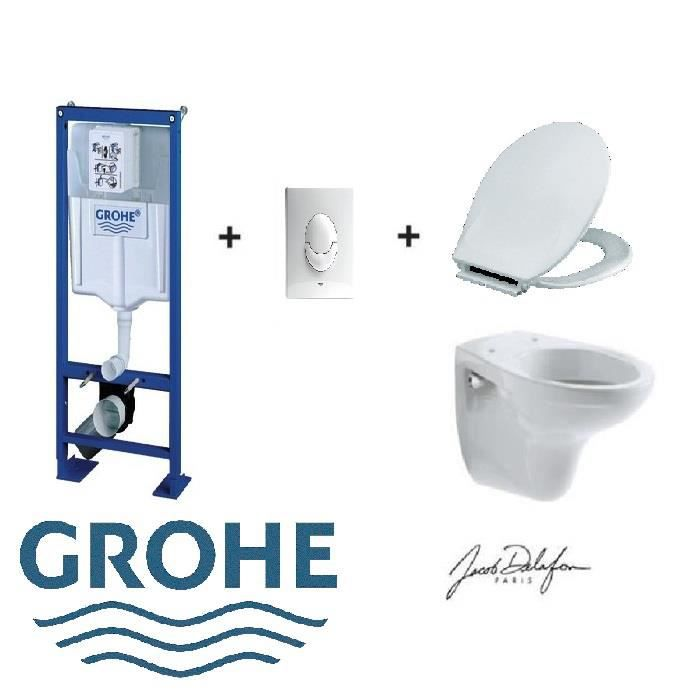 wc grohe achat vente wc grohe pas cher cdiscount. Black Bedroom Furniture Sets. Home Design Ideas