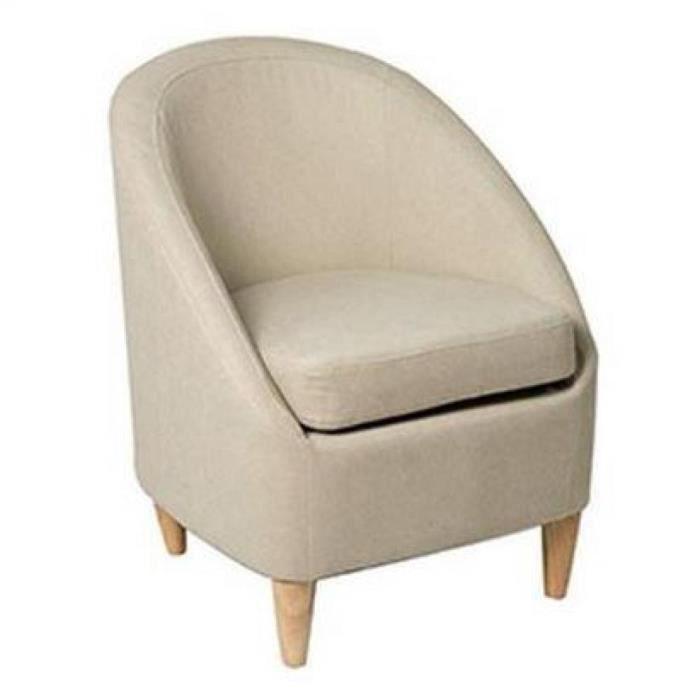 Petit fauteuil chic microfibre sable achat vente fauteuil polyur thane p - Le petit fauteuil de raymond ...