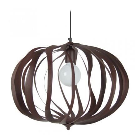 suspension marron ovalia achat vente suspension marron ovalia cdiscount. Black Bedroom Furniture Sets. Home Design Ideas