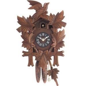 horloge coucou en bois achat vente horloge coucou en bois pas cher soldes cdiscount. Black Bedroom Furniture Sets. Home Design Ideas