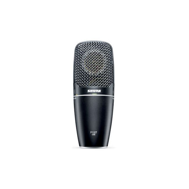 shure micro studio usb pg27 usb capture laterale. Black Bedroom Furniture Sets. Home Design Ideas
