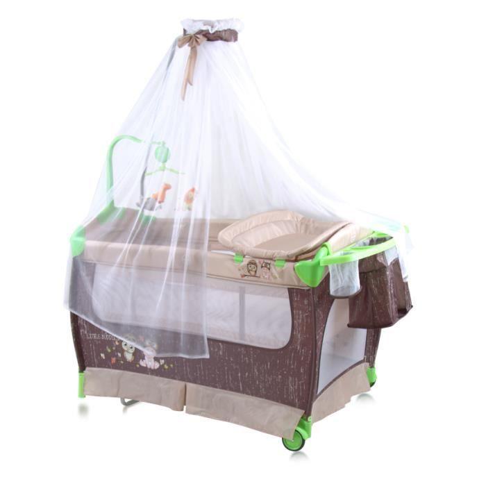 lit parapluie b b avec baldaquin lit pliant pliable bascule dream musical beige achat. Black Bedroom Furniture Sets. Home Design Ideas