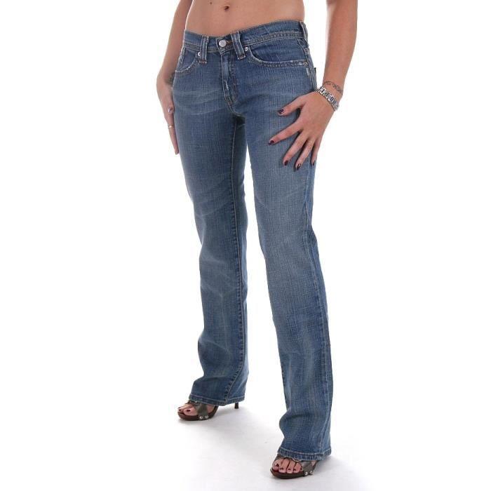 jeans levis 524 bleu femme coupe bleu achat vente. Black Bedroom Furniture Sets. Home Design Ideas